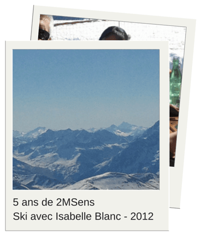 5 ans 2MSens - ski avec isabelle blanc 2012