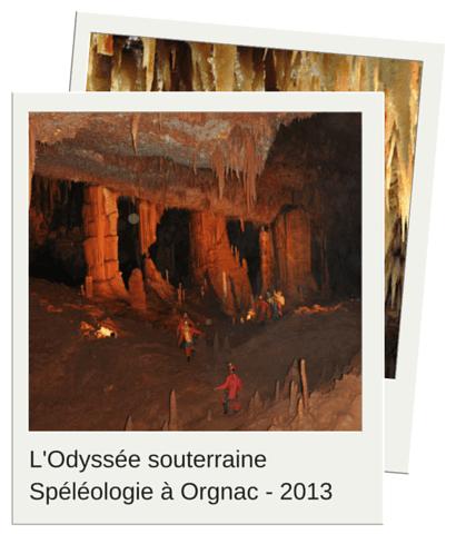odyssee souterraine des editeurs de logiciels - speleo à orgnac 2013