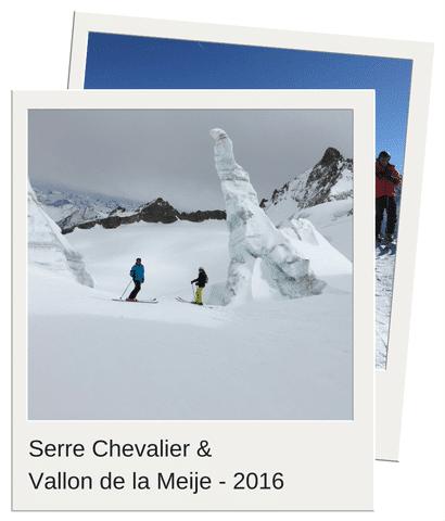 Soft Aventure à Serre-Chevalier et dans le vallon de la Meije - 2016