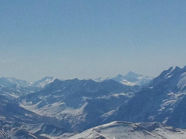 Vue des montagnes lors de l'anniversaire de 2MSens : 5 ans !