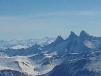 Vue des alpes lors de la sortie softaventure 5 ans 2MSens