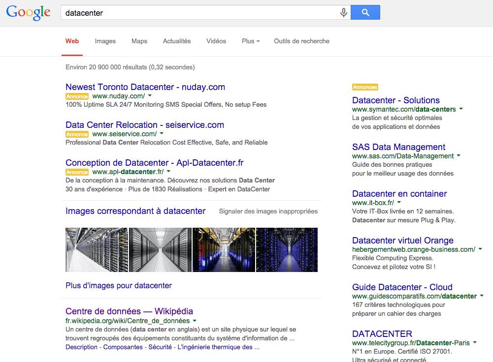 SERP datacenter_referencement marketing international editeur de logiciel