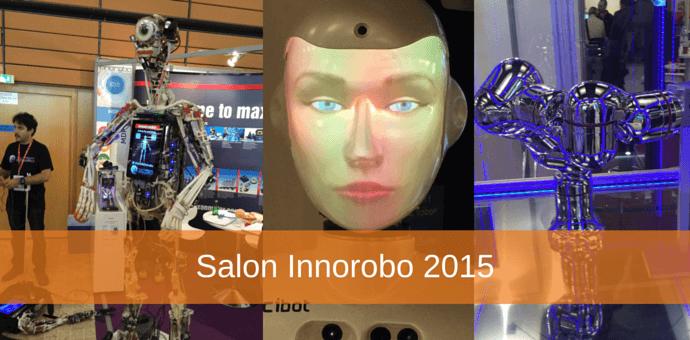 Salon innorobo - innovations robotique