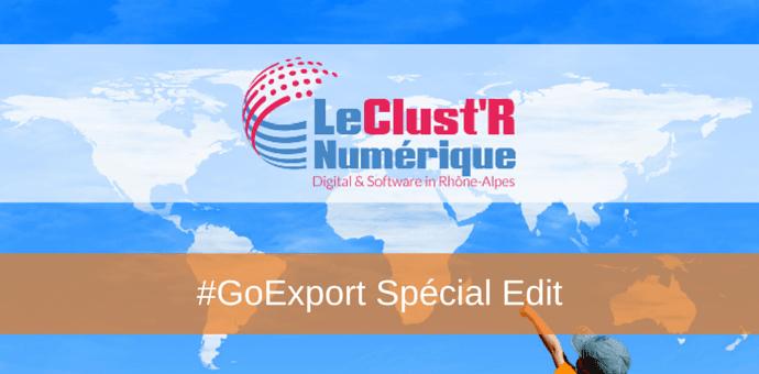 go export le cluster numerique - programme international editeurs de logiciels