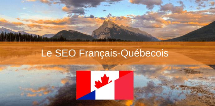 seo francais quebecois - localisation editeurs de logiciels