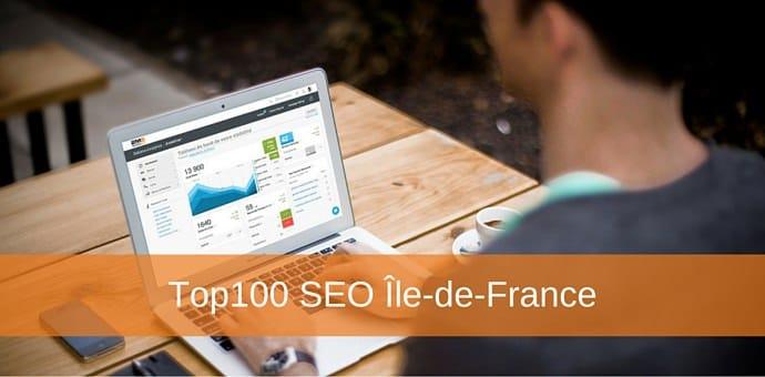 top 100 seo ile de france editeurs logiciels