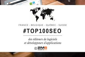 Top100 SEO pays francophones - éditeurs de logiciels