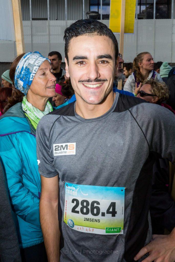 Bryan Cantero avant de s'élancer sur son 10km © Crédits photos Alain Lamour